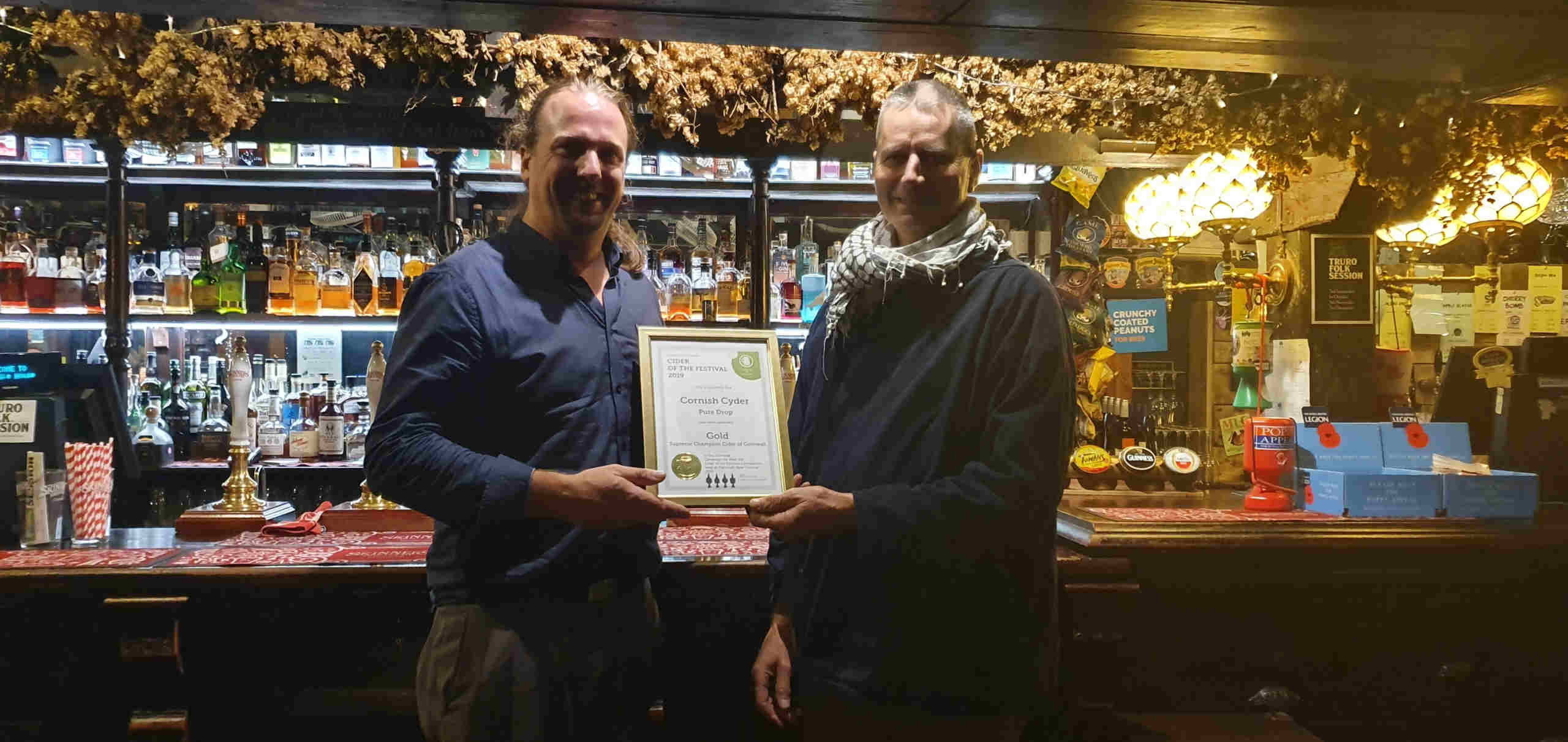 CAMRA Supreme Champion Cider of Cornwall 2019